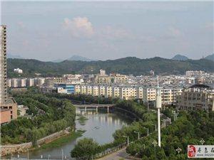 寻乌县城一角