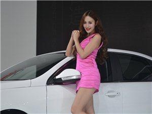谁是2014年成都车展上的粉红女郎