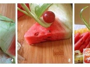 简单易学的水果拼盘做法,你学会了吗?!