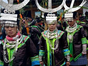 从江县加勉乡3000余苗族同胞共庆芦笙节