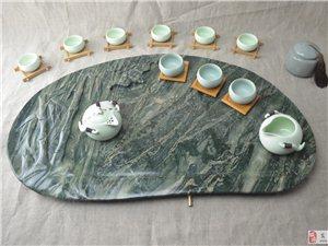 中国四大名玉――九龙壁茶盘