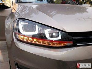 车天下汽车用品  高7车灯升级
