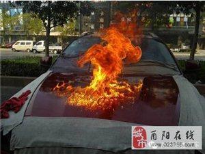 """【汽车快讯】晶鑫汽车周年庆有热闹看:大火烧车、硫酸""""洗车""""(泼车)!"""