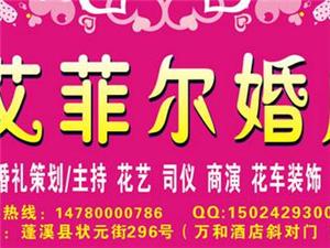 蓬溪县婚庆网强力推荐:蓬溪县艾菲尔婚庆礼仪公司
