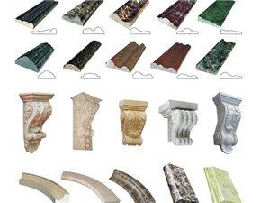 石材异形/泉州众磊石材/异形加工/圆柱线条台面栏杆