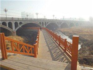 海州桥有了桥下栈道