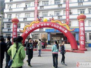 """城口县举行第八届""""体彩杯""""小马拉松比赛"""