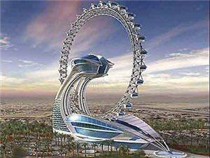迪拜真是令人疯狂的建筑实验场!