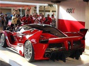 法拉利Laferrari FXX K实车现场
