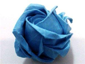 川崎玫瑰的折法-教学