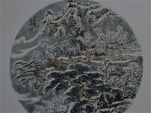 春夏秋冬组画4张8000元
