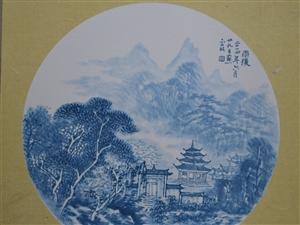 纯花青组画4涨8000元