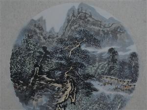 黔东南印象组画3张7500元
