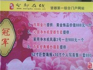 东阳金行赞助澳门太阳城平台网首届微女神大赛