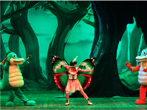 儿童舞台人偶剧《青蛙王子》来射洪了!2015年3月28日哦