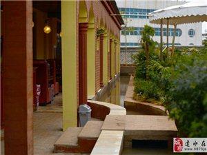建水春和城市花园餐厅位于建水北门商城三楼