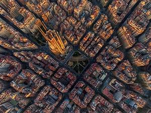 航拍世界各大城市全景图
