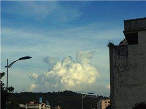随手拍的云彩