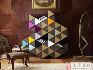 摆脱传统的婚房布置,几何元素让婚房更个性