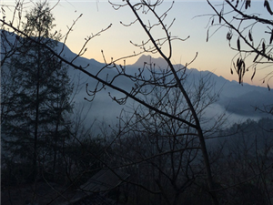 高燕红农工业园区内烟雾缭绕。