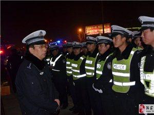 """张家川县公安局交警大队扎实开展""""百日行动""""集中严打整治行动"""
