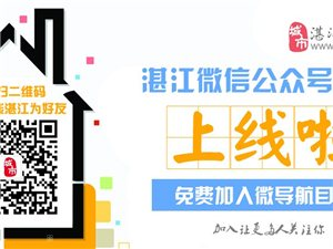 湛江在线微信公众号导航上线拉!
