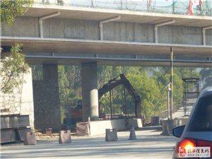 龙潭谢洞高架桥拆架