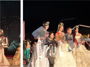 2010年环球国际小姐全球总决赛李淑婉一举夺得亚军