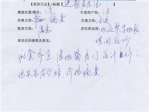 潢川建鼎国际1月2号看房日记第十四篇