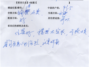 潢川建鼎国际1月2号看房日记第二十篇