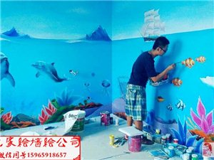 幼儿园墙绘,文化墙墙绘,3D墙绘