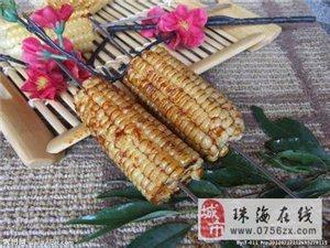 香气四溢 烤玉米,玉米作为一种食物,不得不说它是很成功的。