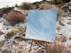 创意摄影:镜子中的风景