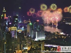春节期间,香港市民的习惯是逛年宵市场,我感觉香港的年宵市场有点像北京的
