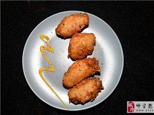 美食:烤鸡翅我最爱吃
