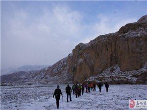 2015.1.17日徒步红水河——之冰瀑