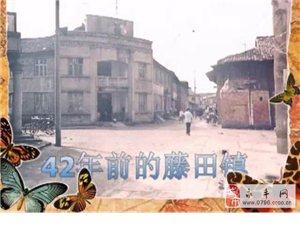 40年前永丰藤田镇是什么样?(老照片珍贵版)亲们来感受下!