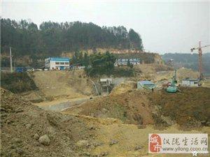 网友拍摄最新仪陇县油坊沟水库建设