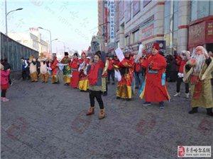福、禄、寿、喜、财五神齐聚 全城派发红包