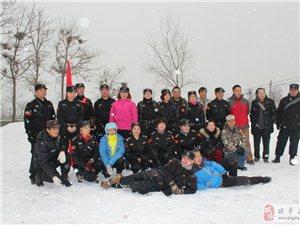 �d平救援�2015年第一次雪中徒步拉�