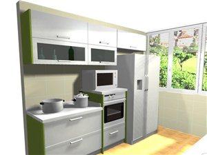 环保无甲醛、新型高强PVC厨、衣柜