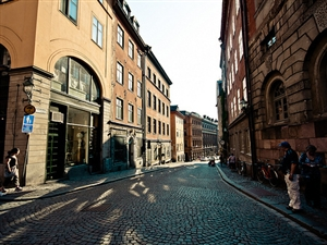 繁华的街景