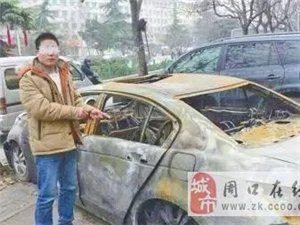扶沟小伙生活不顺砸车偷窃烧5车 警方靠砖头破案