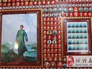 保定电视台《直播保定》报道澳门大小点娱乐县毛主席像章文化博物馆!