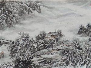 张笋国画山水