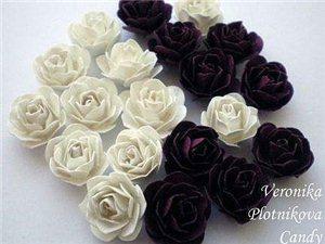 【硬纸片玫瑰】也是简单漂亮~