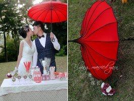 幸福婚纱照――飞舞的嫁衣分享