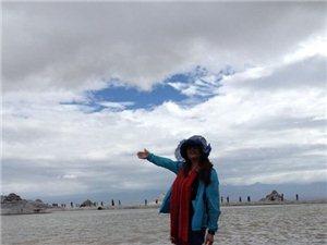 环青海湖路上不再孤单