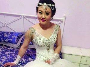 女子11个月努力减掉78斤 只为穿上最美婚纱嫁人