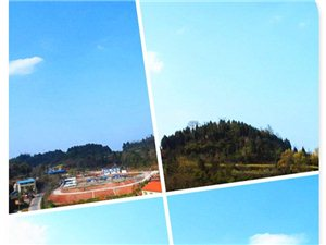 蓬溪县好久没有看到的碧蓝天空了